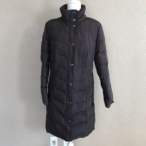 Liz Claiborne Feather Puffer Long Coat